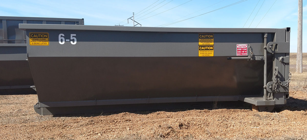 6-yard Small Cleanup Dumpster
